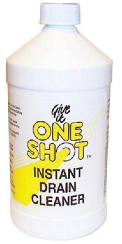 'one Shot' Instant Liquid Drain Cleaner 1 Litre