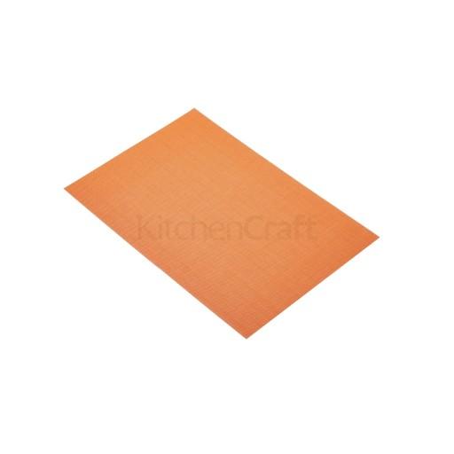 Placemat Woven Orange