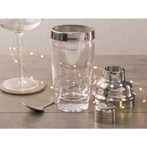 Ava & I Glass Cocktail Shaker