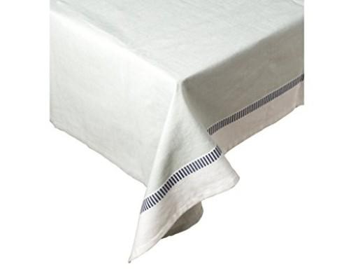 Tablecloth by Mikasa Gourmet Basics Blue & White