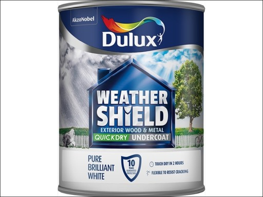 Dulux Weathershield Quick Dry Undercoat White 750Ml