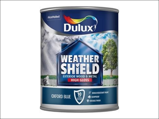 Dulux Weather Shield Gloss Oxford Blue 750Ml