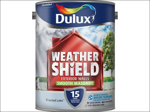 Dulux Weather Shield Smooth Frosted Lake 5L