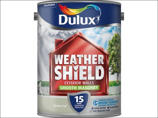 Dulux Weather Shield Smooth Green Ivy 5L