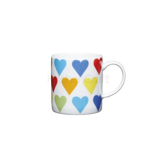 Kc Espresso Mug Hearts