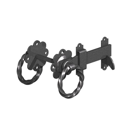 """Twisted Ring Latch 6"""""""