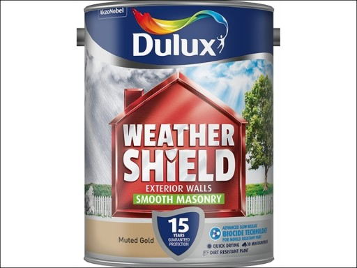 Dulux Weather Shield Smooth Muted Gold 5L