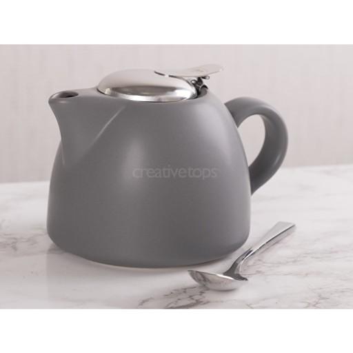 La Cafetiere Barcelona 450ml Teapot Cool Grey