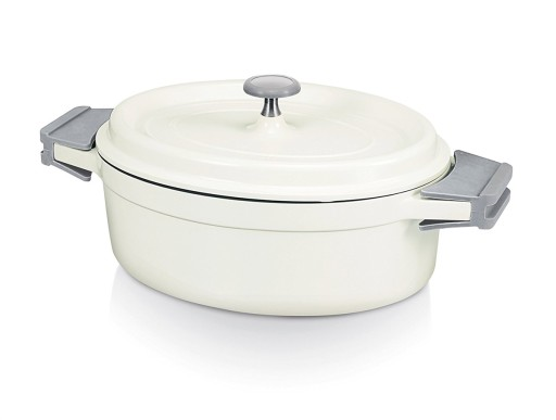Casserole Cook On White