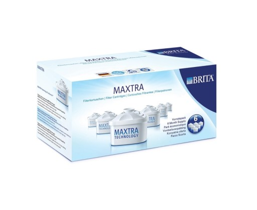BRITA Maxtra 6 Pack Water Filter Cartridges