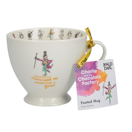Charlie & The Chocolate Factory Footed Mug