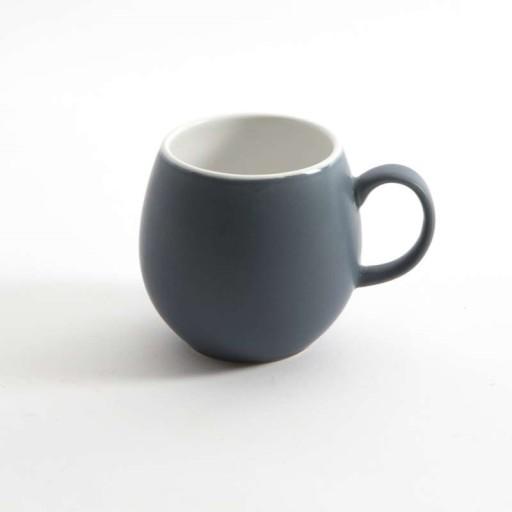 London Pottery Pebble Mugs In Dark Blue