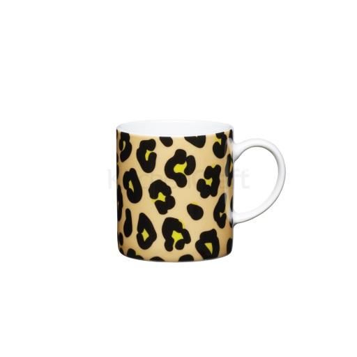 Kc Espresso Mug Leopard