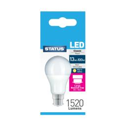 13 Watt BC GLS LED Light Bulb