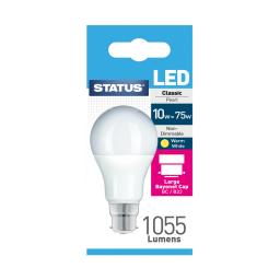10 Watt BC LED GLS Light bulb