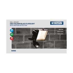 Status 400w Floodlight With PIR