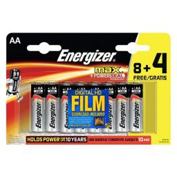 Energizer Max+ Powerseal 8 + 4 AA