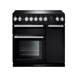Rangemaster 106180 90cm Nexus Induction Range Cooker in Slate Chrome