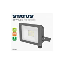 FLOODLIGHT LED 20W 1800 LUMEN