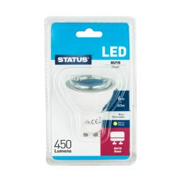 Status LED 6W/60W GU10 Warm White Bulb