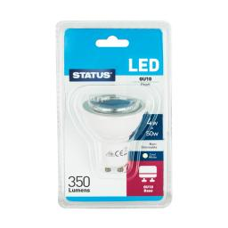 Status 4W/50W GU10 Cool White LED Bulb