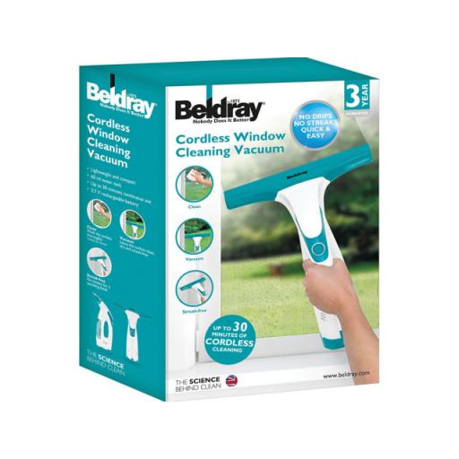 Beldray Cordless Window Cleaning Vac