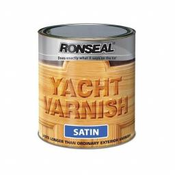 Ronseal 30242 Exterior Yacht Varnish Satin 500ml