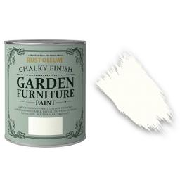 Garden Chalky Paint Chalk White
