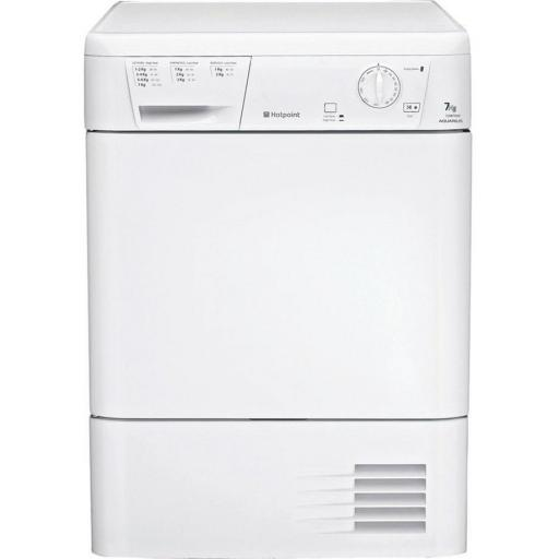 Hotpoint CDN7000BP 7kg Condenser Tumble Dryer - White - B Rated