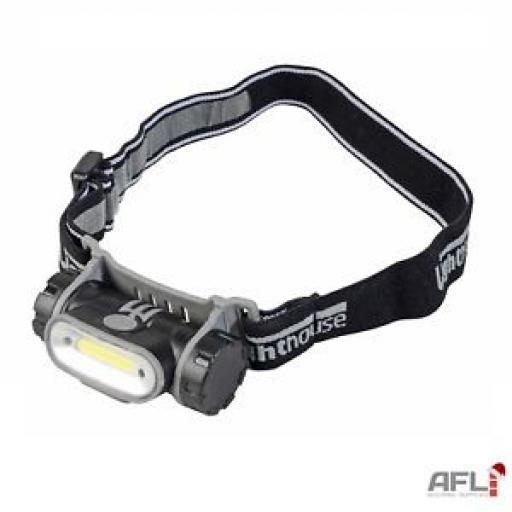 Lighthouse Led Head Torch Rechargeable 280 Lumens