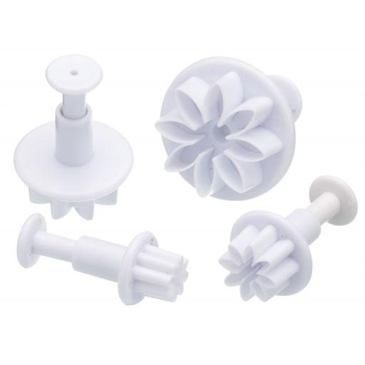 Fondant Plunger Flowers Cutters
