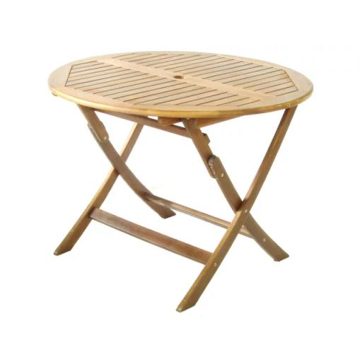 Manhattan/ Rich Round Folding Table 1m