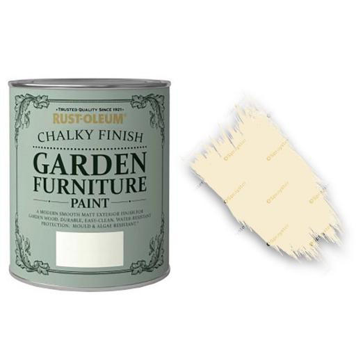 Garden Chalky Paint Clotted Cream