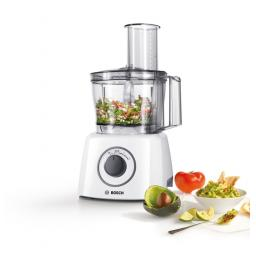 Bosch MCM3100WGB Food Processor 700 W motor White / grey