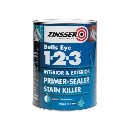 Zinsser Bulls Eye 1-2-3 Primer & Sealer 500Ml