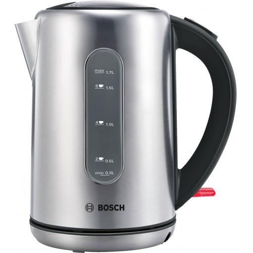 Bosch 1.7 Litres Cordless Stainless Steel City Kettle 3000W - TWK7901GB