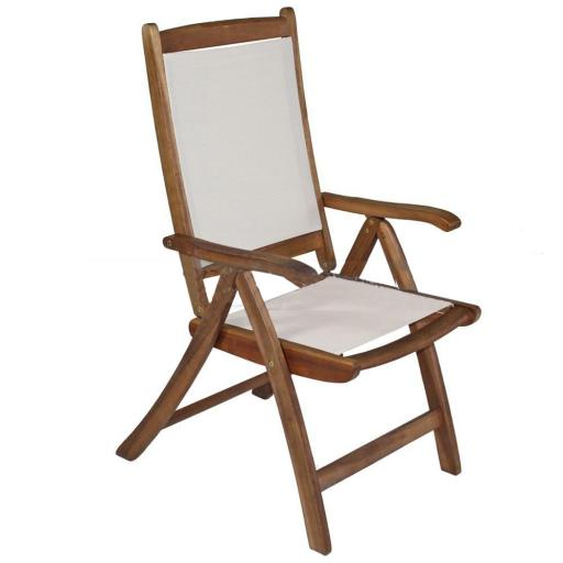 Mir Henley Recliner Chair Ivory