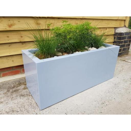 Chigborough Fibreglass Outdoor Planter Trough