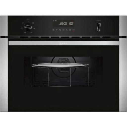 NEFF C1AMG83N0B Electric Built-in Microwave with hot air function with 5 heating methods