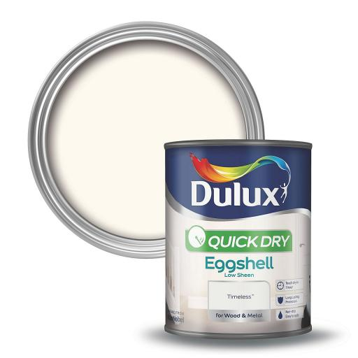 Dulux Quick Dry Eggshell Paint Timeless