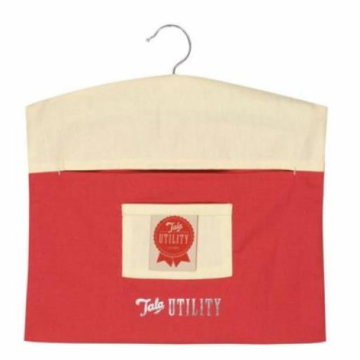 Peg Bag Tala Utility Red