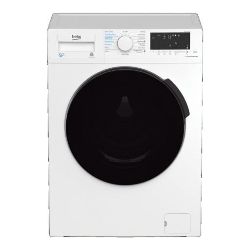 Beko WDB7426S1CW 7kg/4kg Washer Dryer - White - B Energy Rated