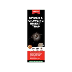 Spider & Crawling Insect trap x 3 FS58