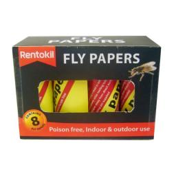 Fly Papers x 8 FF89