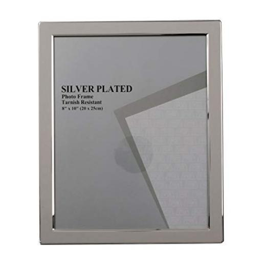 "Silver Thin Edge Photo Frame 4"" x 6"""