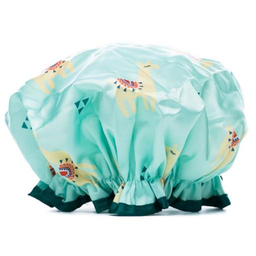 Danielle Creations Shower Cap Llama