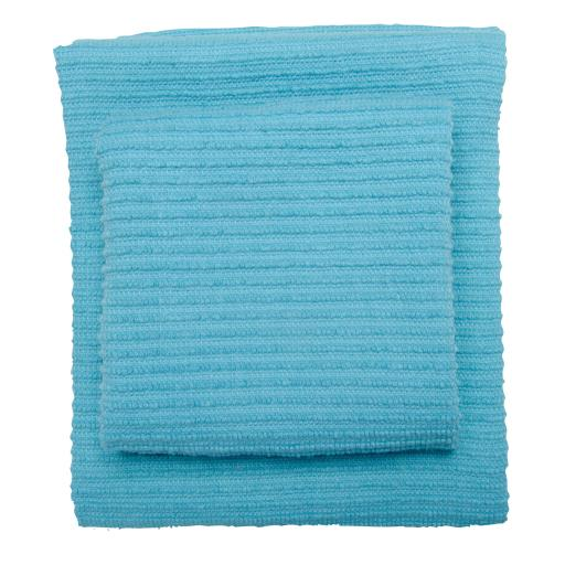 Tea Towel Ripple Bali Blue