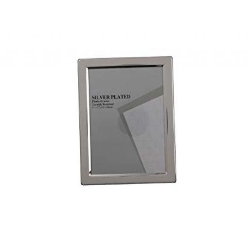 Silver Narrow Edge Photo Frame 15 x 20 cm