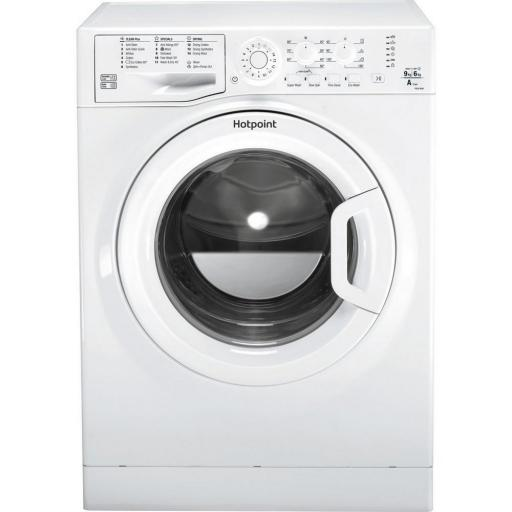 Hotpoint FDEU9640P 9kg/6kg Washer Dryer - White