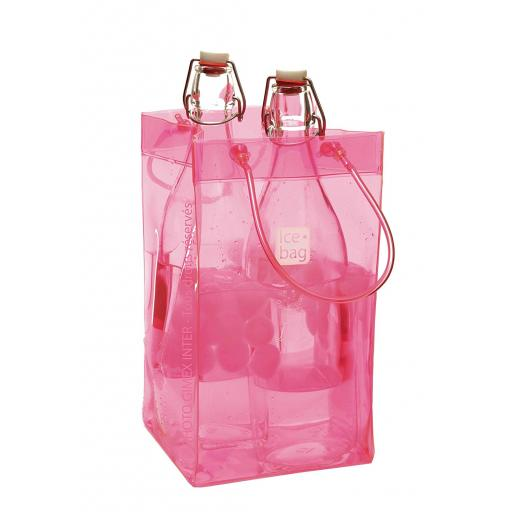 Ice Bag Wine Cooler Pink King Size